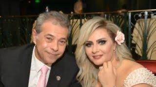 بالصور حفل زفاف توفيق عكاشة وحياة الدرديري