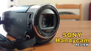 Sony Handycam Review HDR CX405