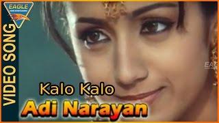 Kalo Kalo Video Song || Adi Narayan Hindi Movie || Vijay,Trisha || Hindi Video Songs