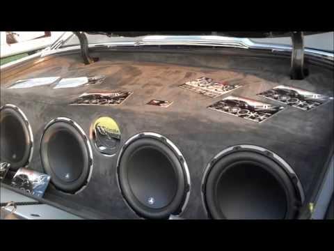 73 Donk on Forgiato 28s w 572 BEATIN Gucci Mane Car Show