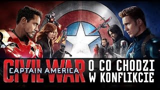 Captain America: Civil War - o co chodzi w konflikcie?
