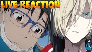 yuri on ice episode 1 live reaction  first impressions  stunning visuals  on ice