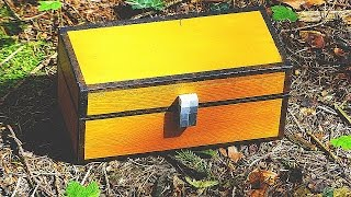 MINECRAFT CHEST in REAL LIFE
