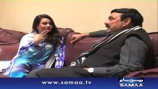 Sheikh Rasheed Sahab - Samaa Kay Mehmaan – 21 March 2016