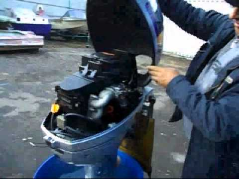 моторы от садовой техники на лодку