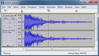 atomic bomb free sound effects