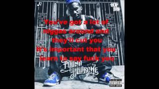 Hopsin - No Fucks Given Lyrics (Pound Syndrome)