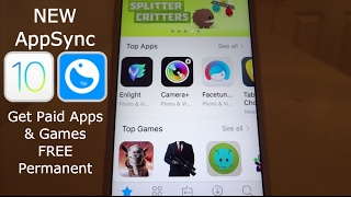 NEW Install AppSync Get PAID Apps & Games FREE Permanent iOS 10 - 10.2 Jailbreak iPhone iPad iPod