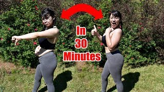 30 Minute Body Transformation | 100 Squats Challenge!