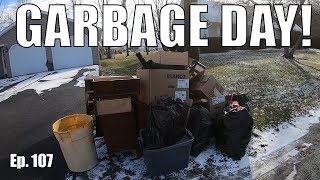 TRASH Picking Day - Finding Cool Things In The Trash Ep. 107