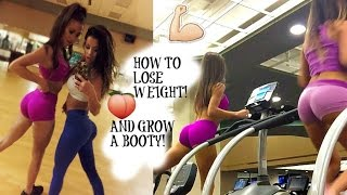 HOW TO LOSE WEIGHT! CIRCUIT TRAINING! & GROW A BOOTY!
