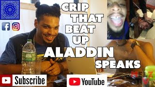 CRIP THAT JUMPED ALADDIN SPEAKS ON THE LONG ISLAND SITUATION WITH ALADDIN