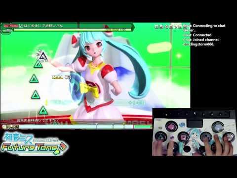 [PS4] 初音ミク Project DIVA Future Tone - はじめまして地球人さん EXTREME ミニコン手元つき