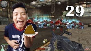 [Đột Kích] Bình Luận CF Zombie V4  Đi Ỉa Tập Thể Tập 29 - NTN