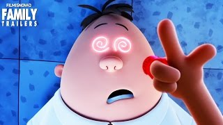 """Captain Underpants   """"Hypnotizing Krupp"""" Clip for the animated comedy"""