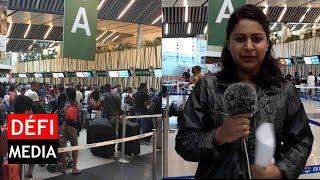 Cyclone Berguitta : plusieurs vols reprogrammés à l'aéroport SSR