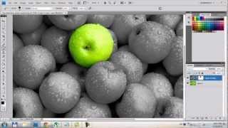 Photoshop CS4 Color Splash Effect Tutorial