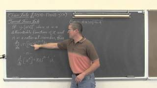 Chain Rule for Derivatives & General Power Rule