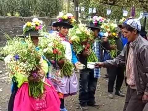 Matrimonio campesino en Chahuarma Lircay Angaraes Huancavelica
