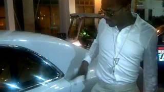 D'Banj,Tiwaworks and Stan Mukoro in Atlanta