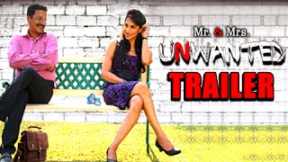 Mr & Mrs Unwanted   Trailer   Latest Marathi Movie   Smita Gondkar, Rajendra Shisatkar
