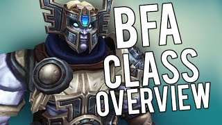 BFA All Class Changes (This Will Change) - WoW Legion 7.3.5