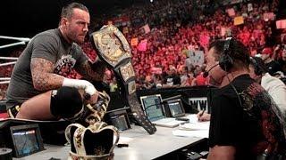 Big Show interrupts CM Punk - Raw, July 30, 2012