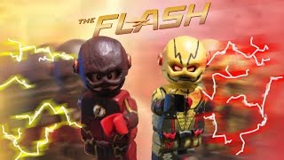 CW The Flash- Flash and Reverse Flash