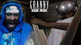 DARK MODE WITH GRANNY...NEVER AGAIN!! | Granny Mobile Game