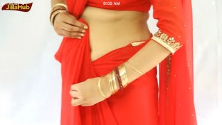 How To Wear Indian Bollywood Saree:Bridal Collection Sari Drape Step By Step