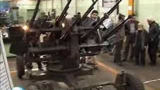 تصاویری از اسلحه جدید ساخت ایران که با زاویه ۶۰ درجه شلیک م
