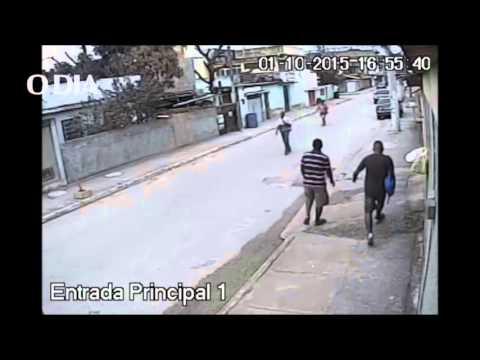 Imagens mostram a ação de homens que mataram PM na Baixada