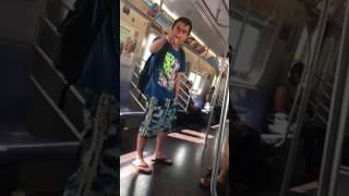 Racist Q train rant 8/8/17