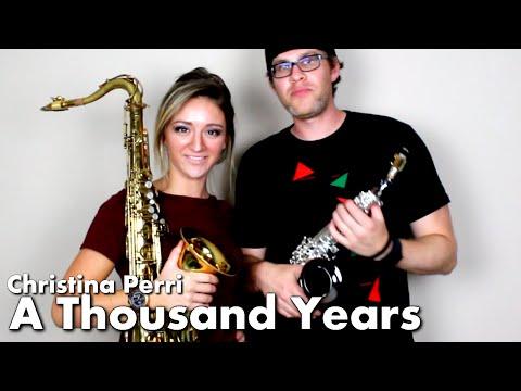 Xxx Mp4 Christina Perri A THOUSAND YEARS Tenor Soprano Sax Cover BriansThing Mandy Faddis 🎷 3gp Sex