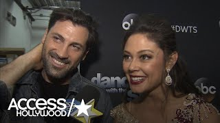 'DWTS': Maks Chmerkovskiy & Vanessa Lachey On Being Eliminated | Access Hollywood
