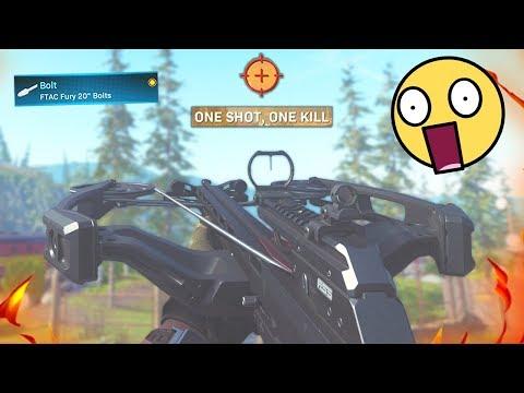 THE ONE SHOT 1 KILL CROSSBOW it s broken Modern Warfare Warzone