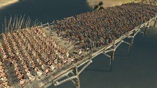 300 SPARTANS vs 6000 BEST EGYPTIAN UNITS - Total War ROME 2