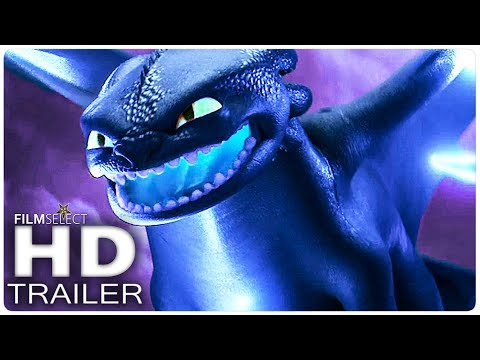 HOW TO TRAIN YOUR DRAGON 3 Trailer 2 2019