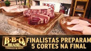 BBQ Brasil (14/05/16) - Episódio 14 - Prova final: Finalistas preparam 5 cortes de carnes