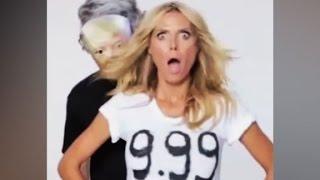 Heidi Klum's funny response to Trump