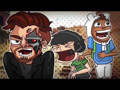 CS:GO Funny Moments - GOD SQUAD! Terroriser Kicked For Teamkilling!