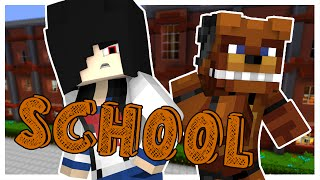 Minecraft School - YANDERE IN FIVE NIGHTS AT FREDDY'S! #39 | Minecraft Roleplay