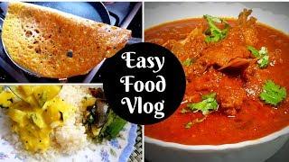 3 Easy Meal Recipes   Rava Dosa   Easy Mutton Curry   Moru Curry   Mezhukkupuratti   Salu Kitchen