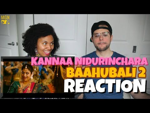 Kannaa Nidurinchara - Baahubali 2  | Prabhas | Anushka | REACTION