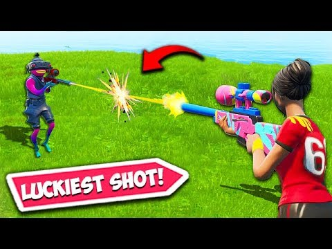 WORLDS LUCKIEST SNIPER SHOT EVER – Fortnite Fails and WTF Moments 616