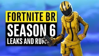 Fortnite | Season 6 Leaks and Insane Theories