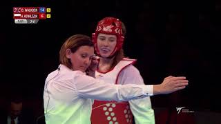 [Female +67kg FINAL] London 2017 World Taekwondo Grand-Prix
