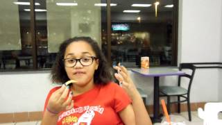Deja and Alexis at Burger King Part 1 - Being funny and goofy :)