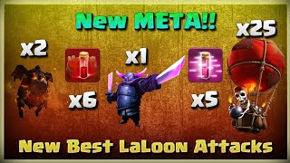 New META!! LALOON with 6 SKELLY SPEELS!! | TH11 War Strategy #213 | After MARCH Update | COC 2018 |