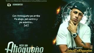 Antioqueño Con Letra Nicky Jam Original 20151